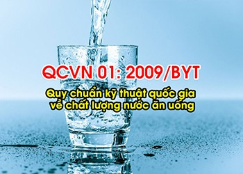 quy chuẩn quốc gia về chất lượng nước ăn uống