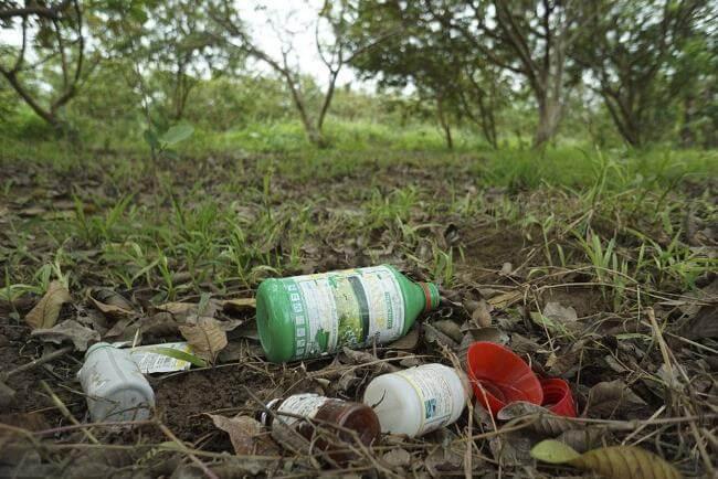Chất hữu cơ có trong các hóa chất, thuốc trừ sâu