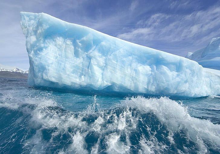 Hiện tượng băng tan sẽ tạo nên những tảng băng lớn
