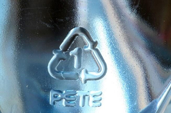 Kí hiệu của loại bình nước nhựa PETE
