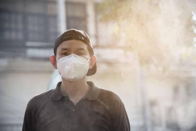Không khí bị ô nhiễm gây ra nhiều bệnh cho con người