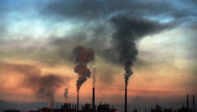 Không khí hiện nay đang bị ô nhiễm nghiêm trọng