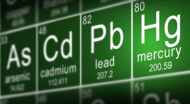 Kim loại nặng là những kim loại có nguyên tử lượng và độc tính cao