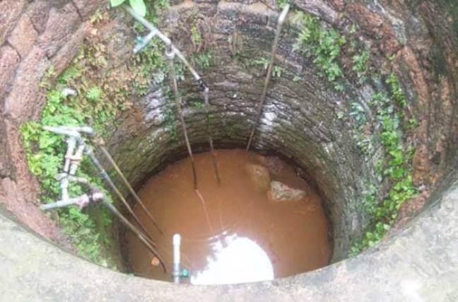 Nước giếng khoan bị nhiễm bẩn