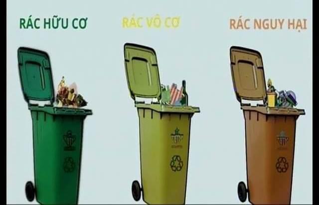 Phân loại rác đúng cách theo 3 loại