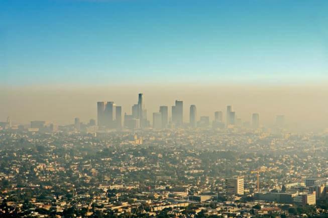 Kể các các thành phố lớn cũng bị ô nhiễm không khí