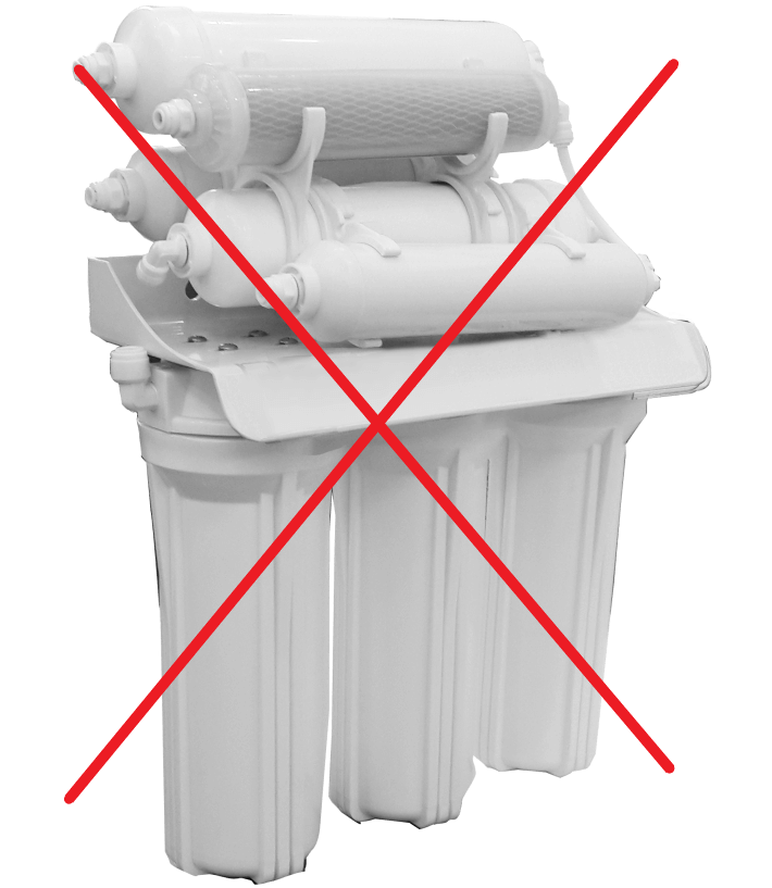 Tác hại từ máy lọc nước giá rẻ kém chất lượng
