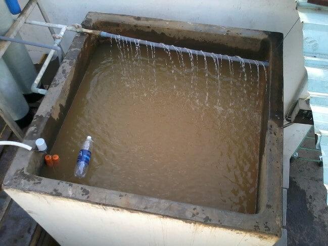 Bể lọc nước tự làm