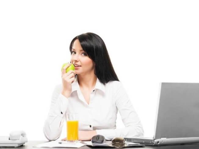 Chế độ ăn uống lành mạnh nơi công sở