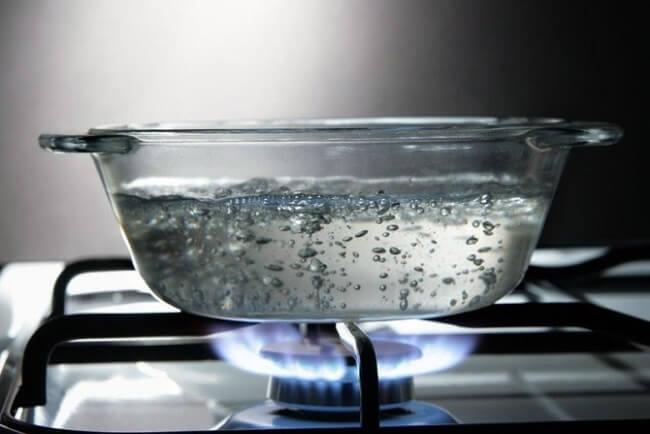 Không nên đun sôi lại nước sau lọc