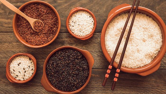 Có nhiều loại gạo rằn với đặc điểm khác nhau