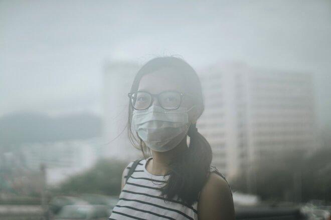 Không khí ô nhiễm có dạng có mùi không có mùi, có màu, không có màu