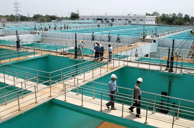 Nguồn nước sinh hoạt ở nước ta chủ yếu là nước máy