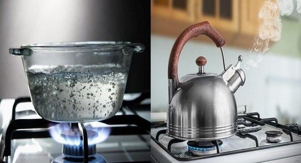 Nước đun sôi có an toàn để uống