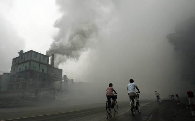 Các chất bụi bẩn ngoài không khí