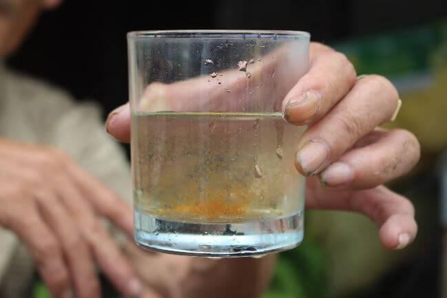 Nước nhiễm phèn gây hại cho cơ thể