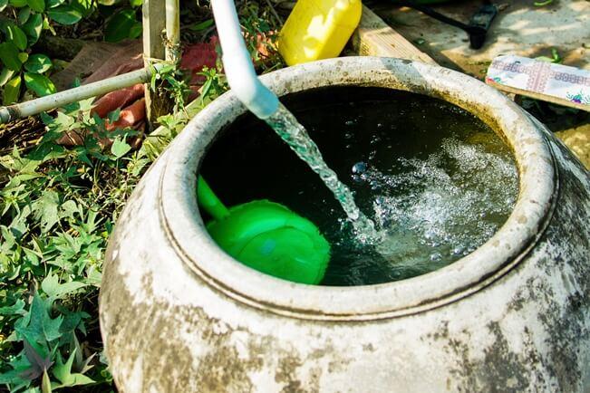 Nước sạch sau khi được lọc