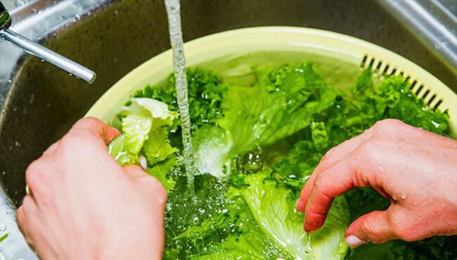Nước ăn uống không đảm bảo vệ sinh