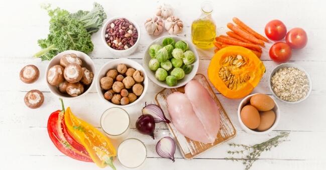 Nguyên liệu giảm cân với Eat clean