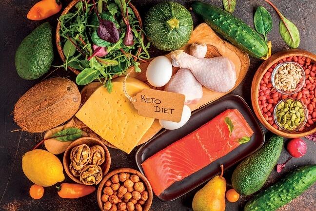 Keto diet là phương pháp giảm cân nhanh chóng