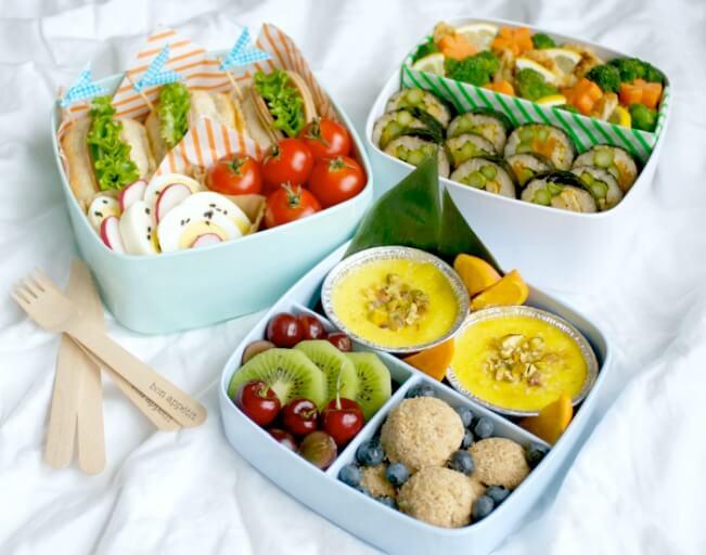 Nên chuẩn bị bữa trưa để có một chế độ ăn uống lành mạnh