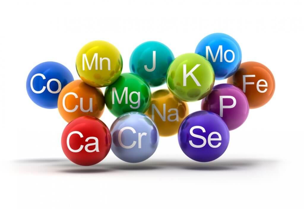 Khoáng chất là những chất dinh dưỡng không thể thiếu đối với cơ thể