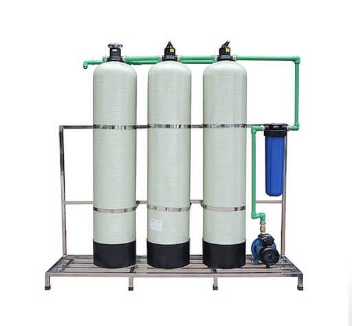 Làm mềm nước bằng phương pháp trao đổi ion. Là phương pháp hiệu quả, đơn giản và được sử dụng nhiều nhất
