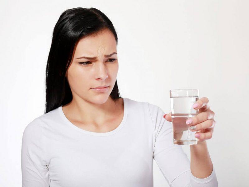 Mùi vị của nước lọc