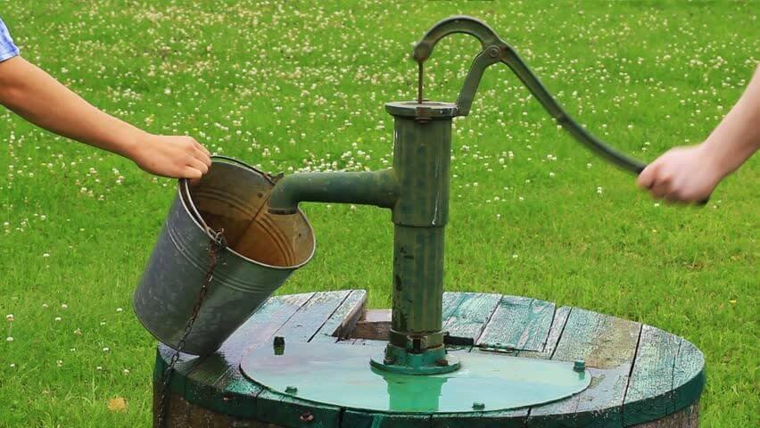 Nước giếng khoan cần được lọc thô trước khi sử dụng để sinh hoạt