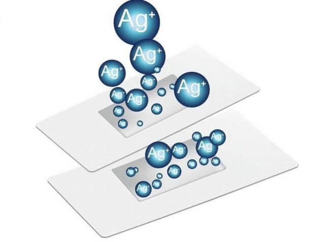 Nano bạc là những hạt bạc có kích thước siêu nhỏ