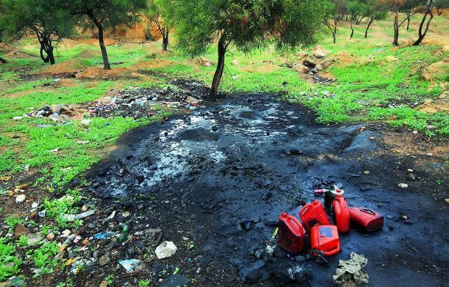 Nguyên nhân ô nhiễm môi trường đất