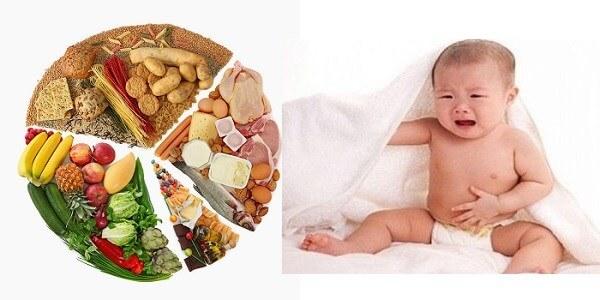 Nguyên nhân trẻ bị kiết lỵ chủ yếu do chế độ ăn uống