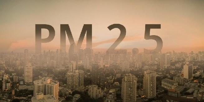 Những ảnh hưởng của bụi siêu mịn PM 2.5 tới sức khỏe