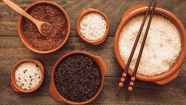 Những cách nấu cơm gạo lứt đơn giản