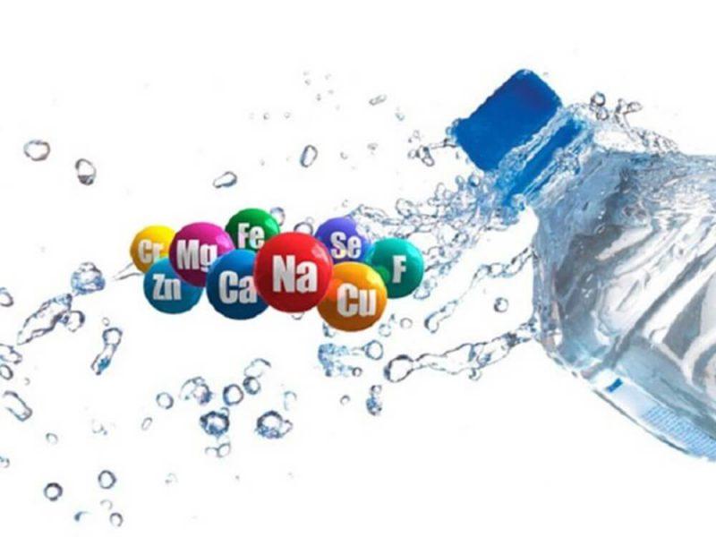 Những khoáng chất có trong nước cần thiết cho cơ thể