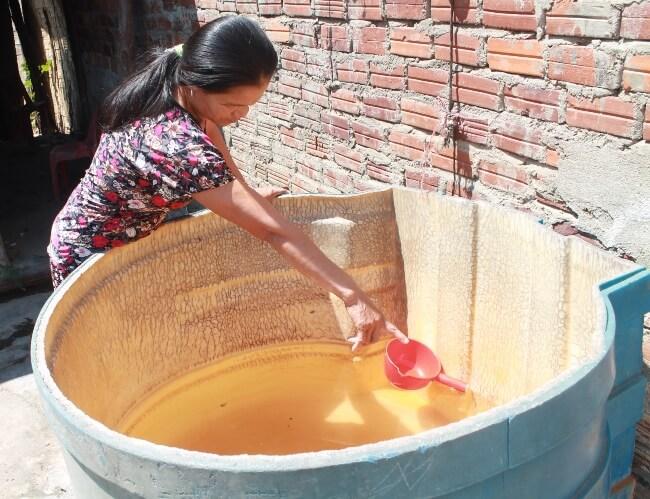 Nước nhiễm phèn gây độc hại cho người dùng