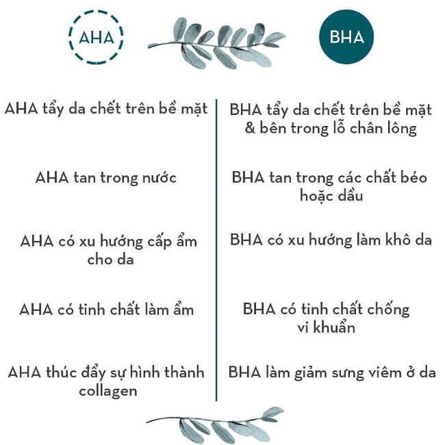 Cơ chế hoạt động của AHA và BHA