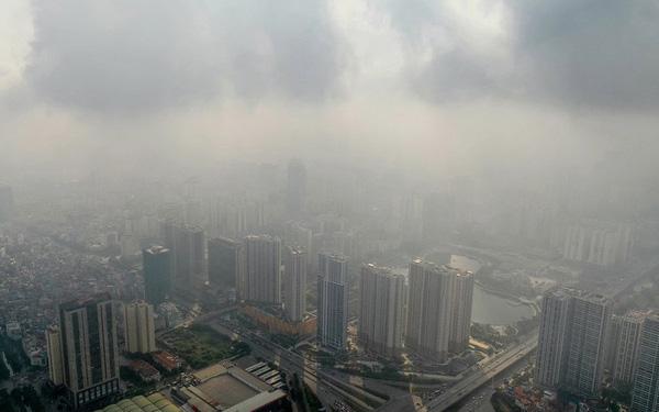 Mức độ PM trong không khí ngày càng nghiêm trọng