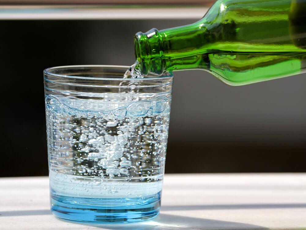 Nước có ga và những tác động đến sức khỏe